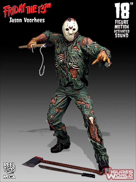 Neca Friday The 13th Jason 18 Inch figuresworld gt t v gt friday the 13th