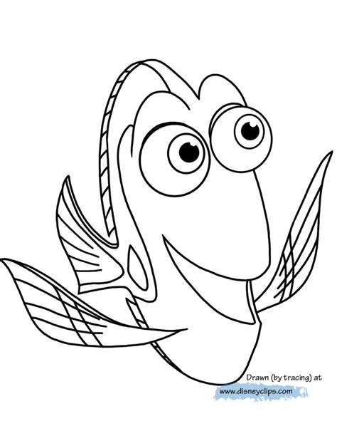 coloring pages nemo and dory finding dory coloring pages disney coloring book