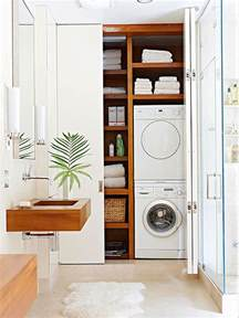 Laundry Room In Bathroom Ideas by 20 Small Laundry With Bathroom Combinations House Design
