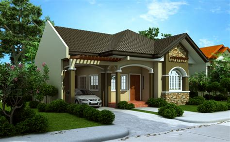 beautiful bungalow house home plans and designs with photos this small beautiful house and interior design bahay ofw