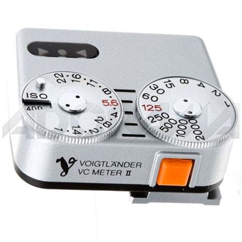shoe light meter voigtlander vc meter ii shoe mounted light meter silver ad104a