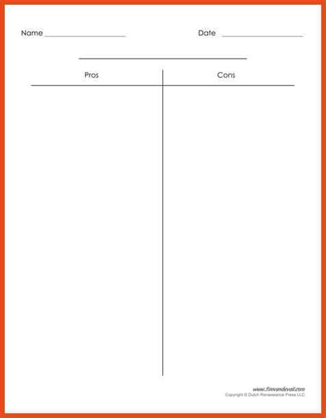 t chart template for word t chart template moa format