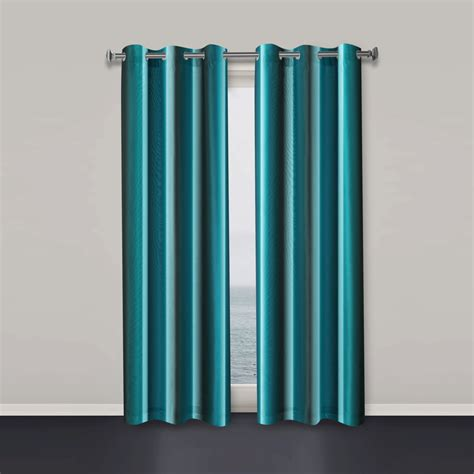 Teal Drapes Curtains Window Curtains Teal Window Curtain Modern Window Curtain