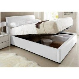 white leather ottoman storage bed best 25 white leather ottoman ideas on pinterest