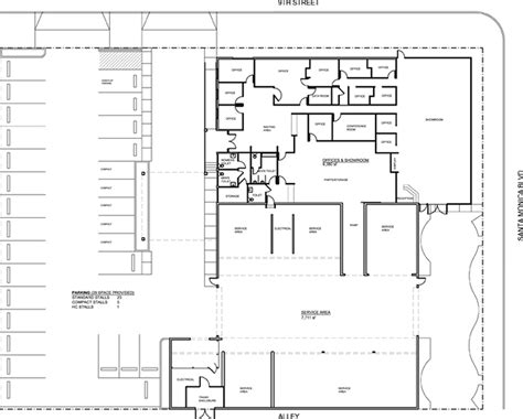 Auto Dealer Floor Plan | car dealership floor plan images frompo 1