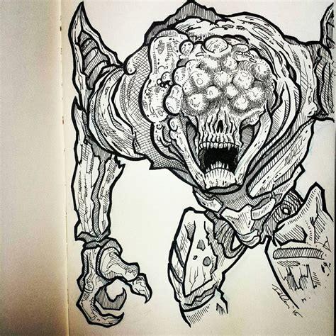 Destiny 2 Sketches by Destiny ペン画のファンアート多数紹介 ゲーム攻略のまるはし