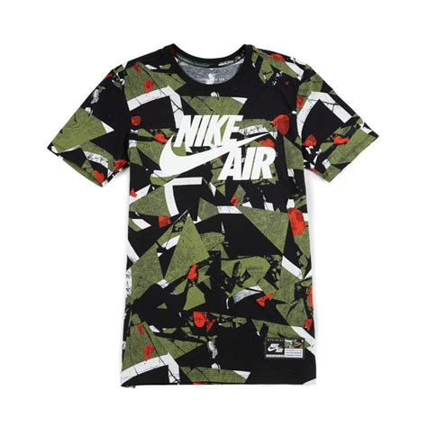 T Shirt My Airs Nike nike air aop t shirt 1 white palm green 35 00