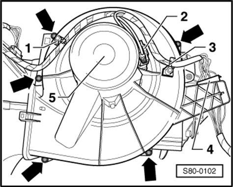 how to replace heater resistor skoda fabia skoda workshop manuals gt fabia mk1 gt heating air conditioning gt heating air conditioning