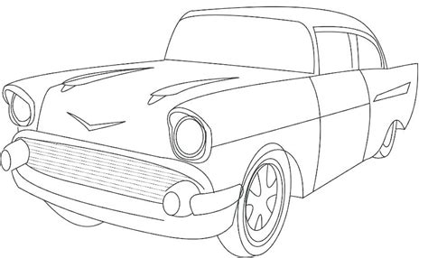 Classic Car Coloring Pages Free