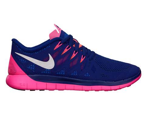 Nike Free 5 0 Blau 3666 by Nike Free 5 0 Damen Laufschuh Blau Pink Im Shop