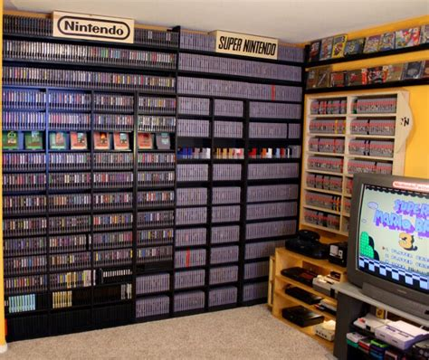 N64 Room by For Sale On Ebay Collection Of Every Nes Snes Boy