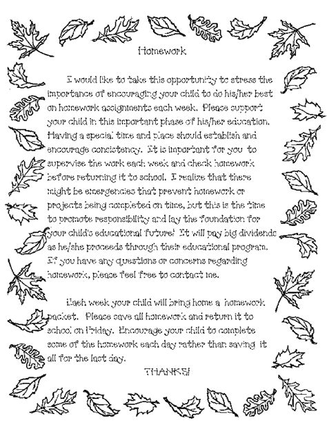 Parent Helper Letter Templates Letters Parents Parent Letter For