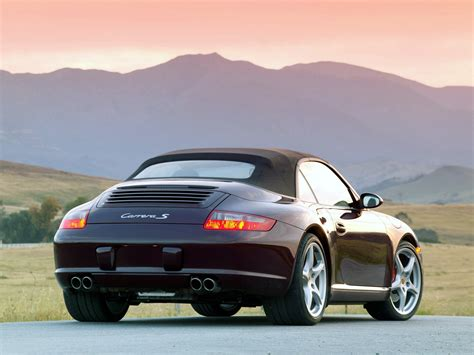 porsche 911 s cabriolet 997 specs 2005 2006
