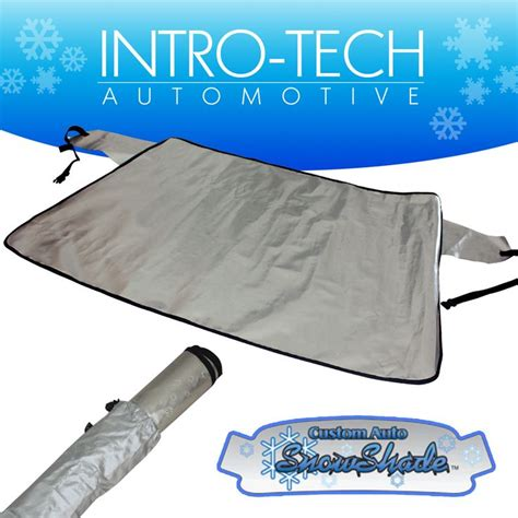 honda fit   intro tech custom auto snow shade windshield cover hd