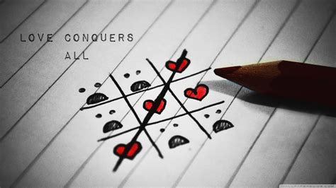 love games hd wallpaper love conquers inspirational hd wallpaper stylishhdwallpapers