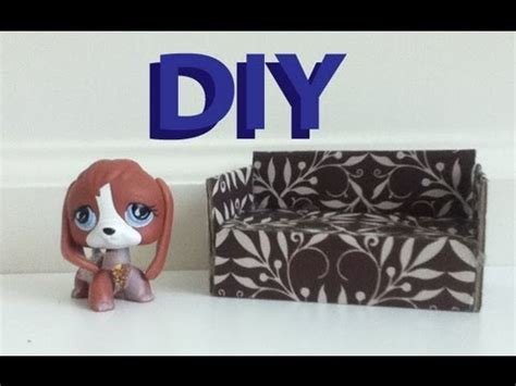 how to make a lps couch diy furniture how to make a lps couch youtube