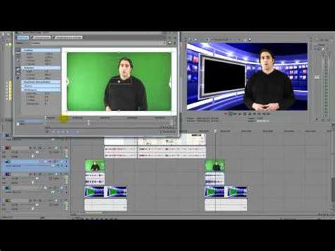 windows movie maker chroma key tutorial sony vegas movie studio hd 11 green screen chroma key