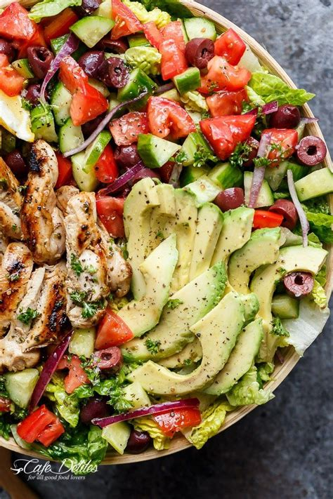 greek salad recipe with grilled lemon chicken culicurious 8849 best images about recipes healthy food that looks
