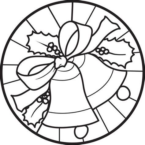 coloring pages for christmas bells free printable christmas bells coloring page for kids 6