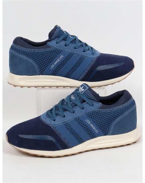 adidas los angeles trainers navy ash blue indigo originals