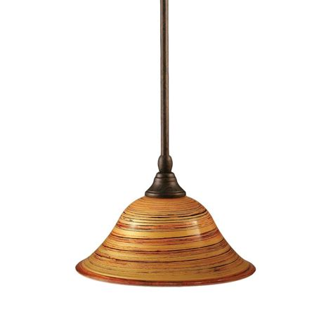 Filament Pendant Lighting Filament Design Concord 1 Light Bronze Pendant Cli Tl5003492 The Home Depot
