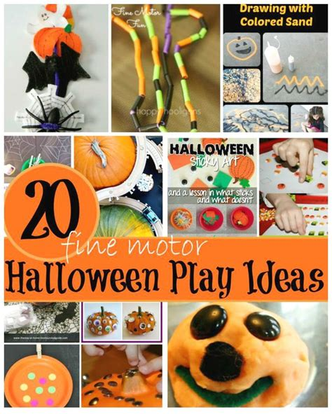 halloween themes for daycare halloween fine motor skills activities for kids