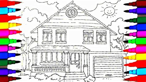 L Drawing Book by Coloring Book Family House Coloring Pages L Drawing