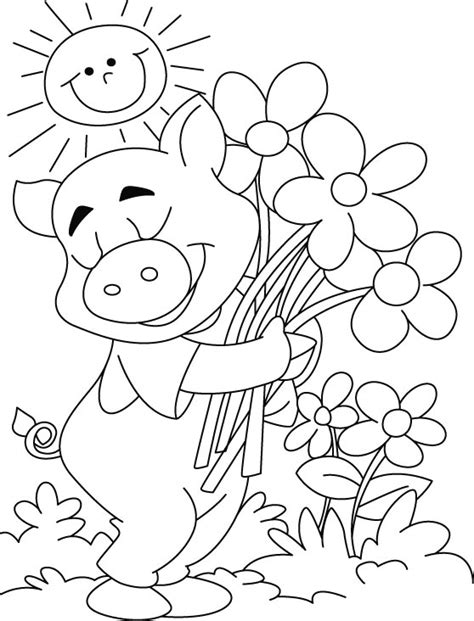 peppa pig valentines coloring pages printable peppa pig calanders new calendar template site