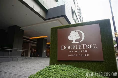 hotel terbaik  johor bahru doubletree  hilton hotel