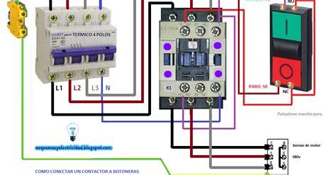 un contactor a botoneras esquemas el ctricos apexwallpaperscom c 243 mo conectar contactor a botoneras esquemas el 233 ctricos