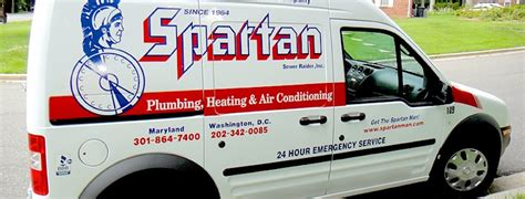 spartan plumbing heating and air conditioning plumbing