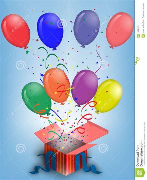 imagenes originales de globos globos del cumplea 241 os ilustraci 243 n del vector ilustraci 243 n