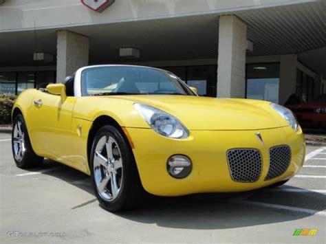 pontiac solstice yellow 2008 yellow pontiac solstice roadster 15920486