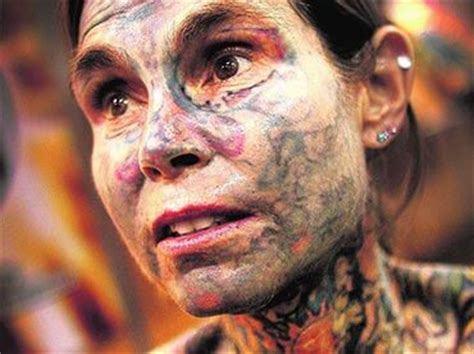 most tattooed woman in the world gnuse is the world s most tattooed wow amazing