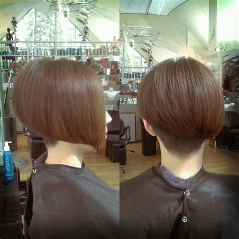 inverted bob short cut at the nape pictures 161 best images about new clippered nape bob and nuveau