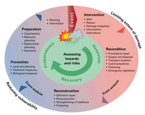 Emergency Management Planning Cycle | emergency planning management services 171 natural safety