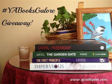 Ya Book Giveaway - ya books galore giveaway a j cattapan