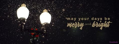 merry  bright christian facebook cover banner