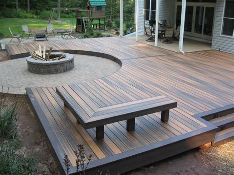 best deck designs best 25 simple deck ideas ideas on small
