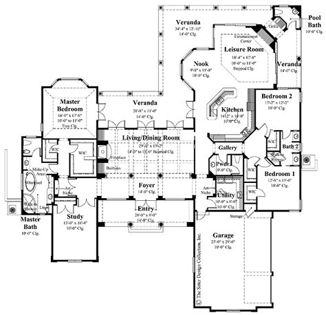 Spanish Colonial Architecture Floor Plans | spanish colonial house floor plans spanish colonial