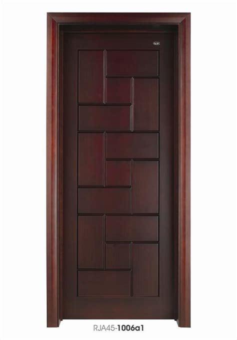 China interior bedroom wooden door composite doors design with timber venner china solid