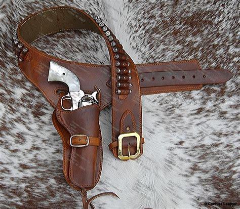 western leather buscadero holsters and gunbelt custom