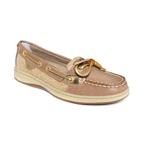 sperry womens boat shoes sperry top sider s angelfish boat shoes in brown