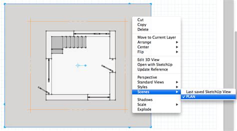 sketchup layout scale image retired sketchup blog creating a plan of your sketchup