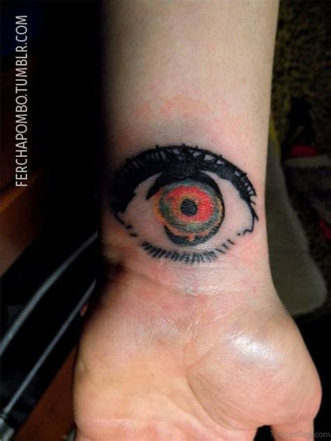 evil eye tattoo on wrist 41 best eye tattoos for wrist