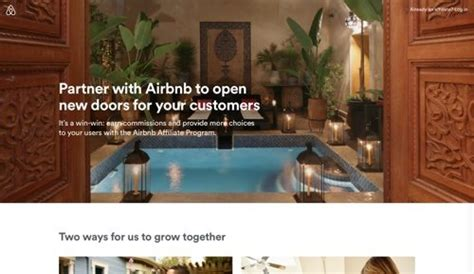 airbnb affiliate ecommerce product releases november 1 2017 practical