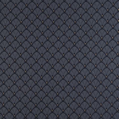 navy blue upholstery fabric d308 navy blue and gold fan woven jacquard upholstery