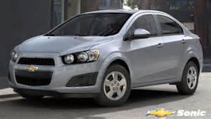 2013 chevrolet sonic 4 door sedan auto lt angular front