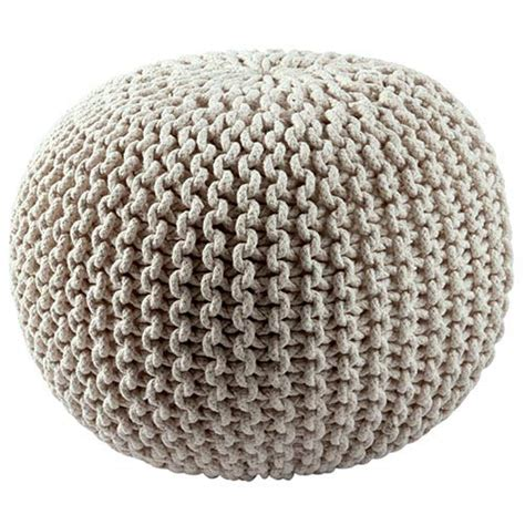 rope pouf ottoman ottomans on sale bellacor