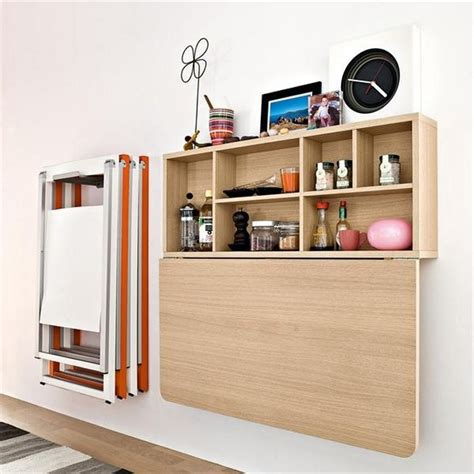 Wall Mounted Kitchen Cabinets by Wall Mounted Fold Table For The Home